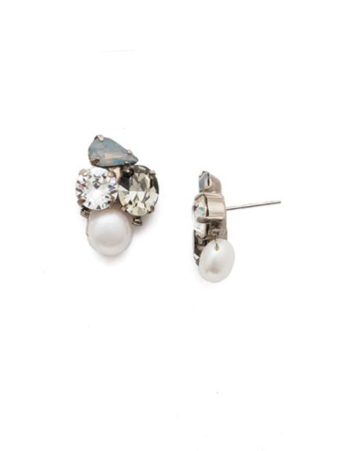 Sorrelli Storm Clouds - Aziza Stud Earrings~ EEK18ASSTC