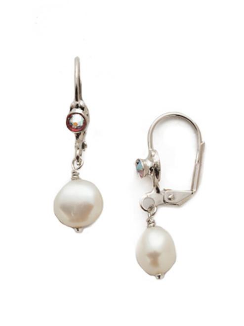 Sorrelli Apple Blossom Narelle Dangle Earrings EEF14RHAB