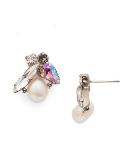 Sorrelli Misty Pink- Elisa Stud Earrings~ EEC5ASMP