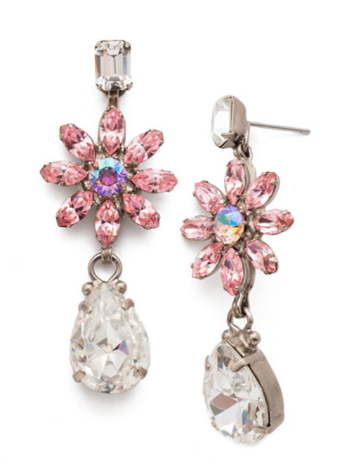 sorrelli misty pink celestina statement post earrings eea15asmp