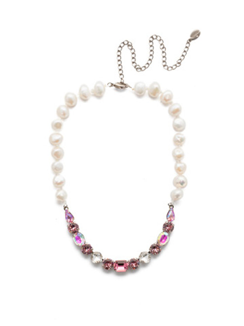 Sorrelli Misty Pink Necklace~ NEC14ASMP