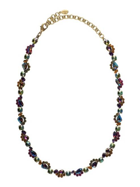 Sorrelli Volcano Crystal Classic Necklace NBZ31AGVO