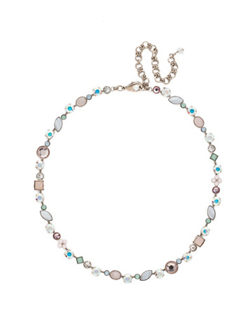 Sorrelli Rainbow Quartz Crystal Necklace NAQ3ASRQ