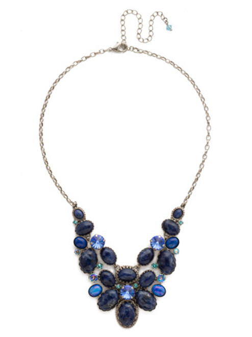 ULTRAMARINE Crystal Necklace by Sorrelli NDE58ASUM