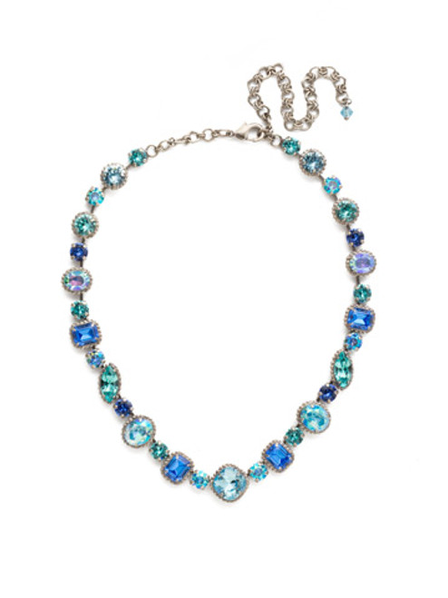 ULTRAMARINE Crystal Necklace by Sorrelli NCP37ASUM