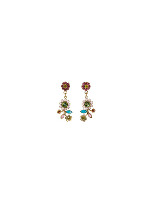 Sorrelli Happy Birthday Crystal  Earrings~EBH66AGHB