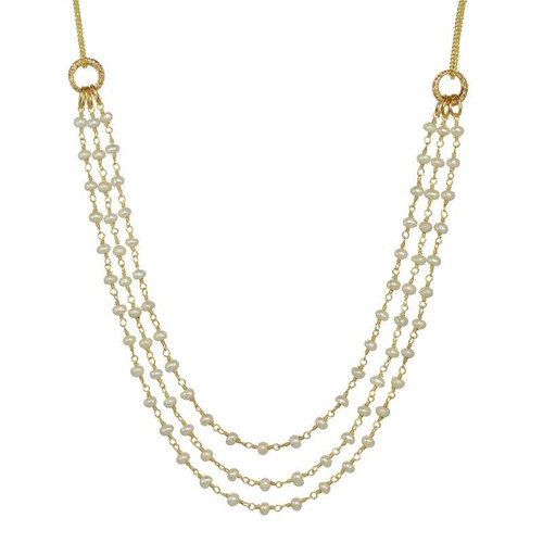 Michal Golan Elegant Pearl Necklace N3856