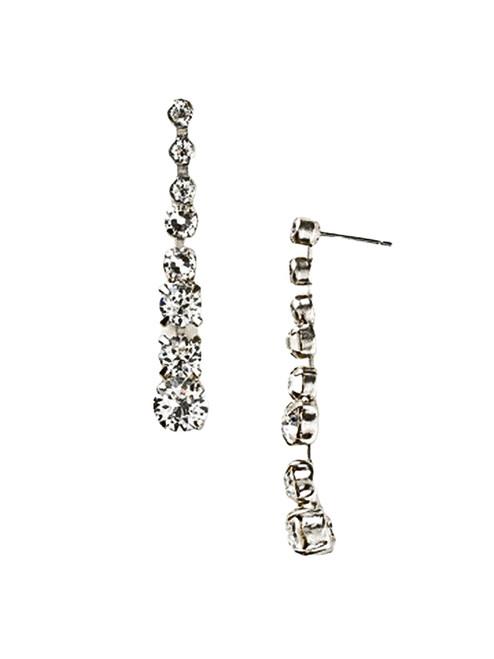 Sorrelli White Bridal  Crystal Earrings~ECZ11ASWBR