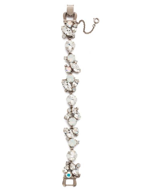 *Special Order* Sorrelli White Bridal Crystal Bracelet~BDN51ASWBR