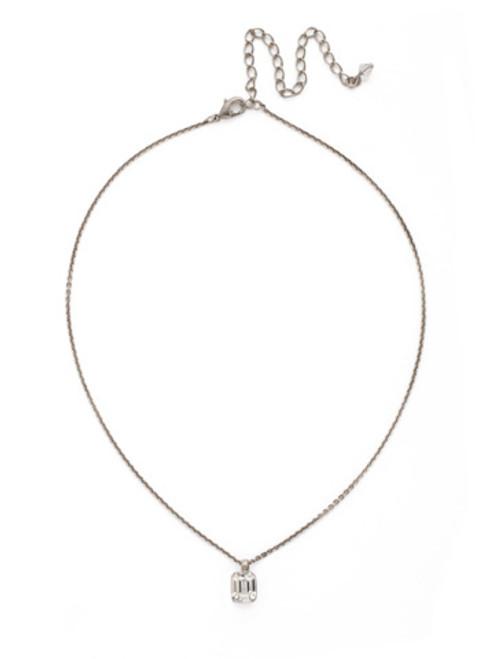 *Special Order* Sorrelli White Bridal Crystal Necklace~NDG43ASWBR