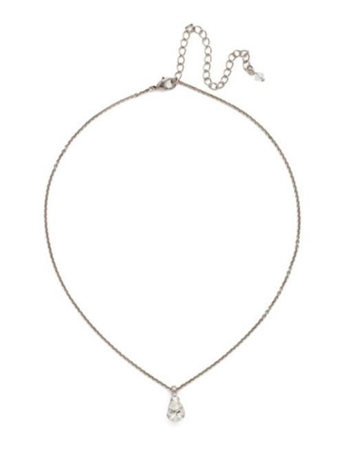 *Special Order* Sorrelli White Bridal Crystal Necklace~NDG40ASWBR