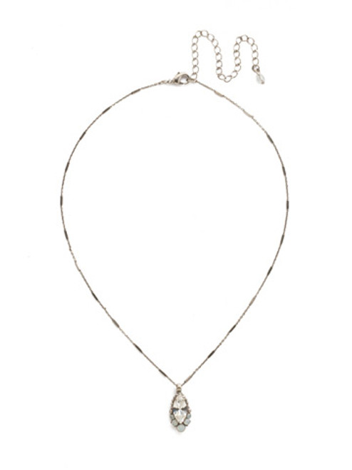 *Special Order* Sorrelli White Bridal Crystal Necklace~NDL41ASWBR