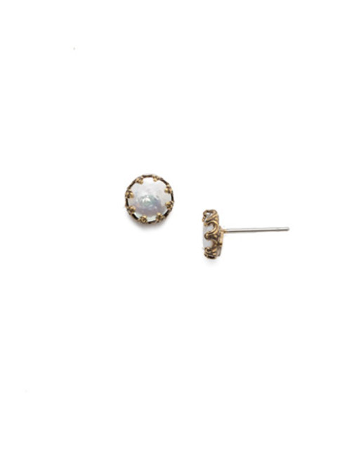 Sorrelli Selvedge Denim- Lauretta Stud Earrings~ EEP22AGSDE