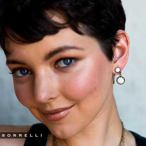 Sorrelli Selvedge Denim- Oaklyn Dangle Earrings~ EEP1AGSDE