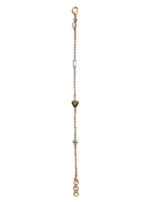 Sorrelli Selvedge Denim Crystal Bracelet BEP9AGSDE