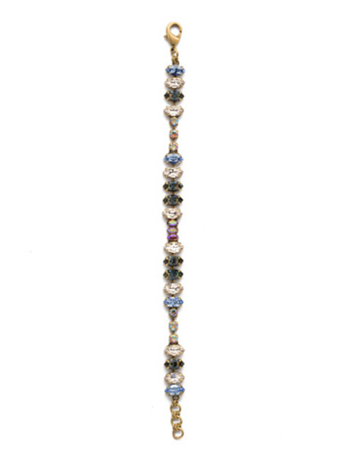 Sorrelli Selvedge Denim- Reyna Tennis Bracelet~ BEP5AGSDE