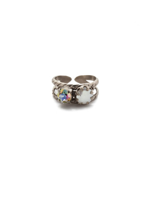 Sorrelli Crystal Envy Cocktail Ring REP3ASCRE