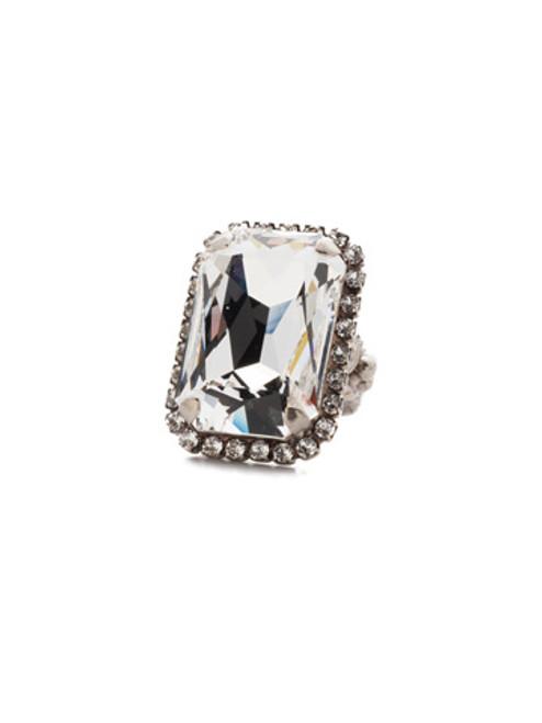 Sorrelli Crystal Envy Ring RBT69ASCRE