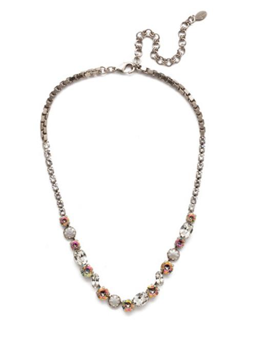 Sorrelli Crystal Envy- Harttley Tennis Necklace~ NEP3ASCRE