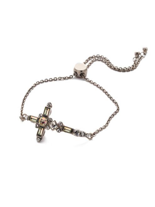Sorrelli Crystal Envy- Venezia Slider Bracelet~ BEC23ASCRE
