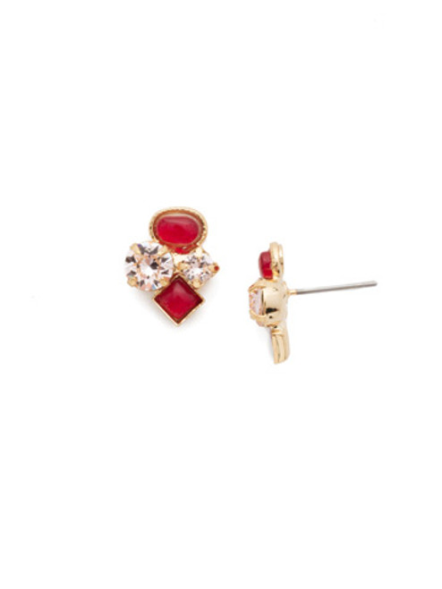 Sorrelli Scarlet Champagne Crystal Earrings EAT32BGSRC