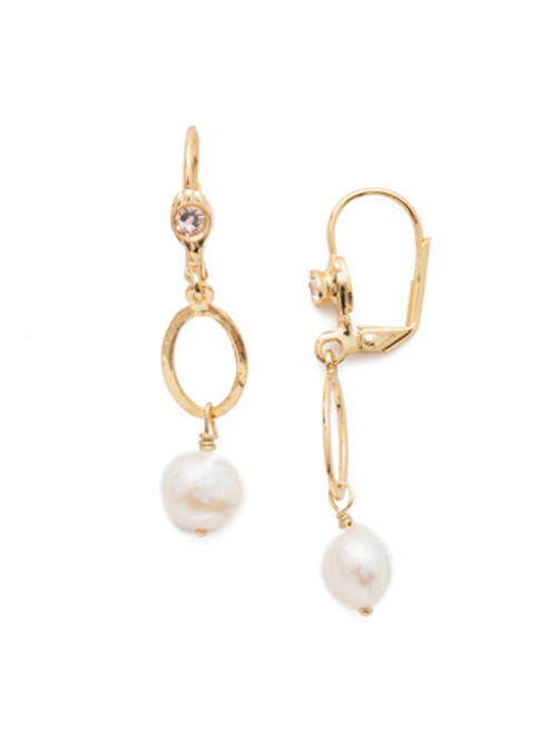 Sorrelli Scarlet Champagne Crystal Earrings EEC3BGSRC
