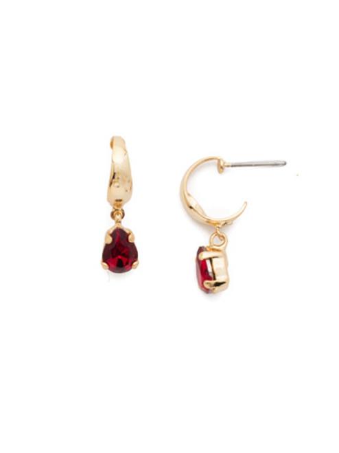 Sorrelli Scarlet Champagne Crystal Earrings EEF81BGSRC