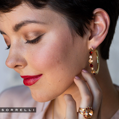 Sorrelli Scarlett Champagne Earrings-EEA23BGSRC