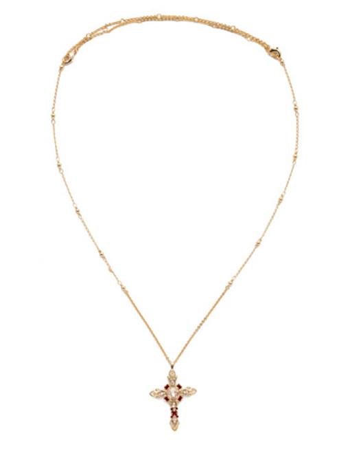 Sorrelli Scarlet Champagne- Elowen Pendant Necklace~ NDS3BGSRC