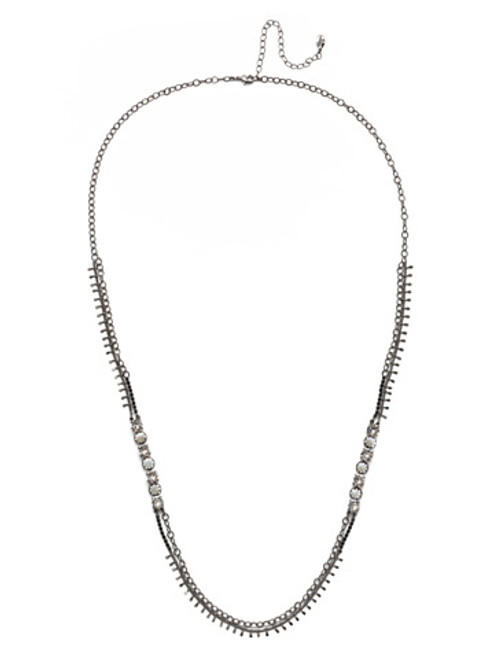 Sorrelli Midnight Moon Oaklyn Necklace NEP1GMMMO