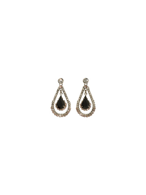 **SPECIAL ORDER**SORRELLI French Blush Graceful Pear Teardrop Crystal Earrings~ECF41ASFB