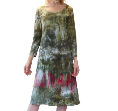 Ice Tye Dye Midi Dress by Martha~Loden