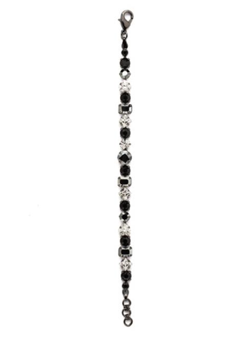 Sorrelli MIDNIGHT MOON- Sedge Tennis Bracelet~ BDX1GMMMO
