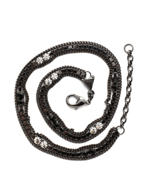Sorrelli Midnight Moon It's a Wrap Layered Bracelet~BDM5GMMMO