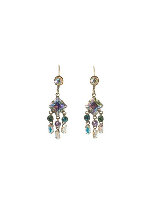 Sorrelli Smitten  Crystal  Earrings ~EBP72AGSMI