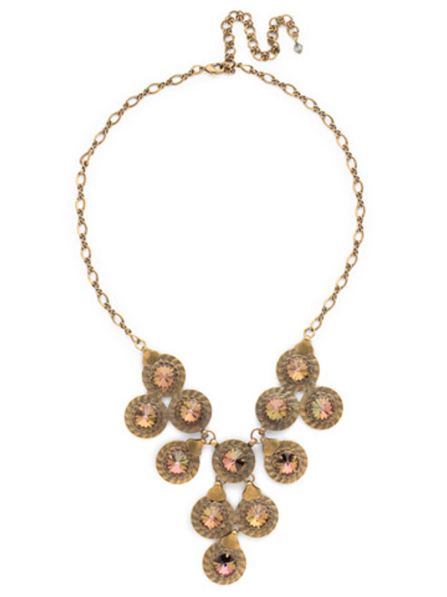 **SPECIAL ORDER**CRYSTAL PATINA One of A Kind Crystal Necklace by Sorrelli~NDH1AGCRP