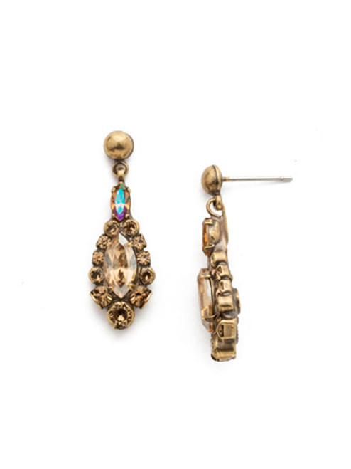 NEUTRAL TERRITORY CRYSTAL EARRINGS BY SORRELLI EDQ30AGNT