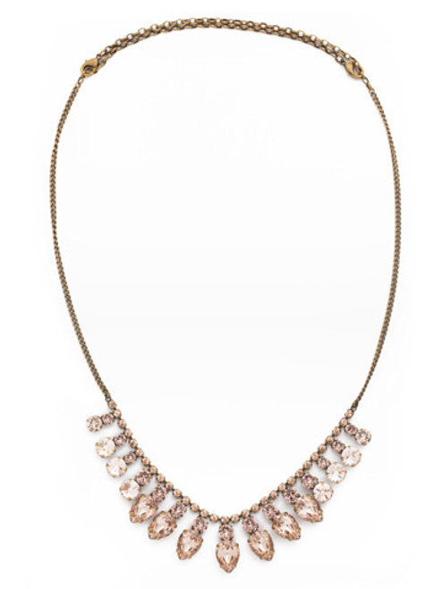 Sorrelli Wildflower Crystal Necklace ndk5agap