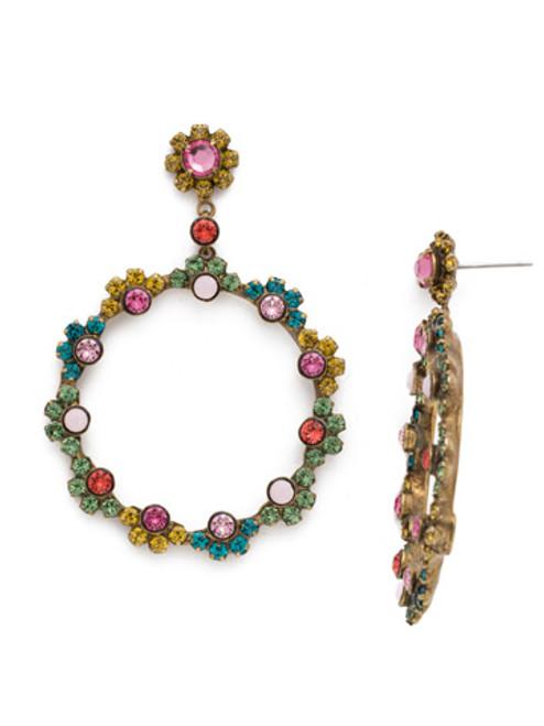 Sorrelli Happy Birthday Crystal Earrings