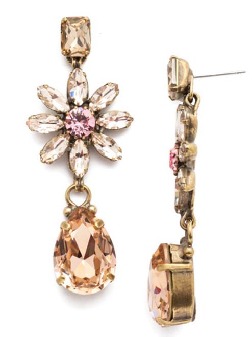 Sorrelli Beach Comber Crystal Earrings EEA15AGBCM