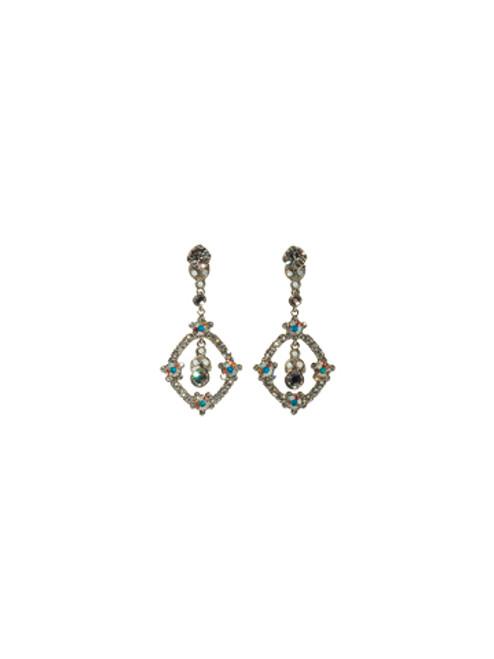 Sorrelli White Bridal Crystal Earrings EBS34ASWBR