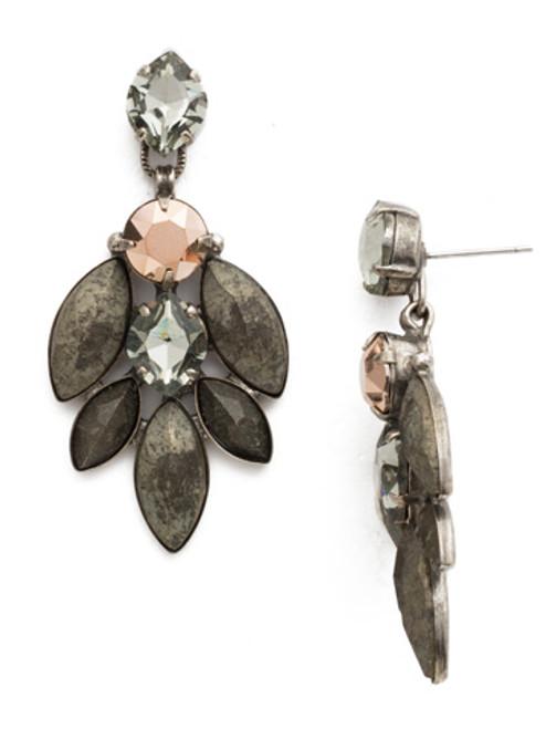 Sorrelli Modern Metallic Crystal Earrings EDS12ASMMT
