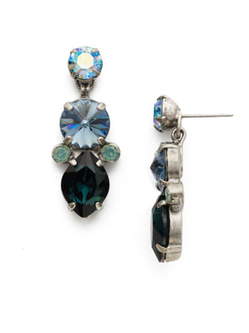Sorrelli Moonlit Shore Crystal Earrings eds45asmls