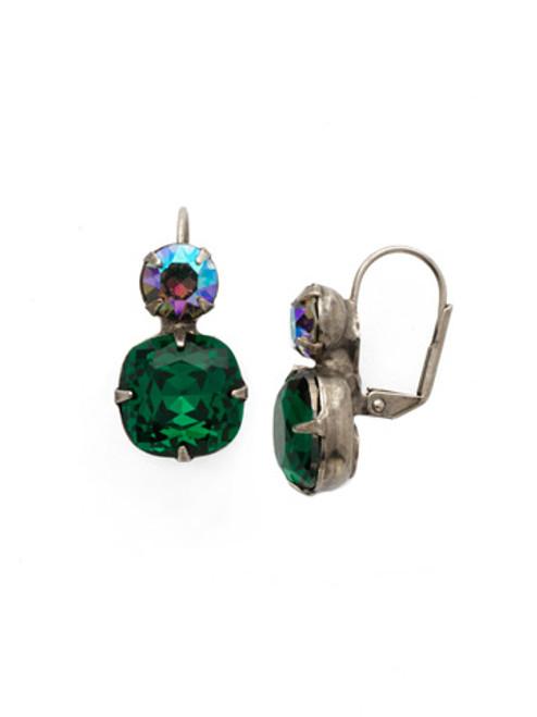 Sorrelli Emerald Crystal Earrings ECL4ASEME