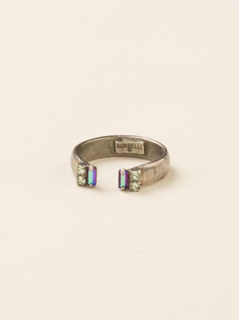 **SPECIAL ORDER**Sorrelli African Violet Crystal Ring~RDE4ASAFV