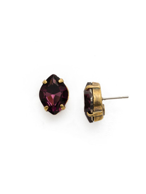 **SPECIAL ORDER**ROYAL PLUM EARRING BY SORRELLI~EDS43AGROP