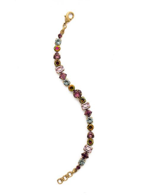 Sorrelli Royal Plum Bracelet-BDX1AGROP