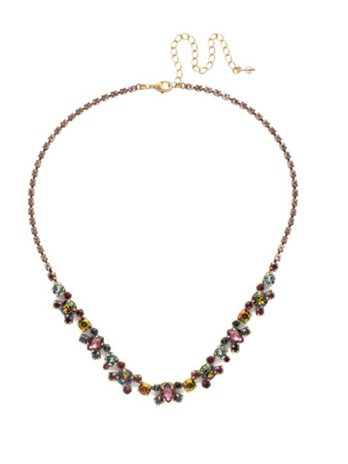 *SPECIAL ORDER*  ROYAL PLUM CRYSTAL NECKLACE BY SORRELLI~NDK11AGROP