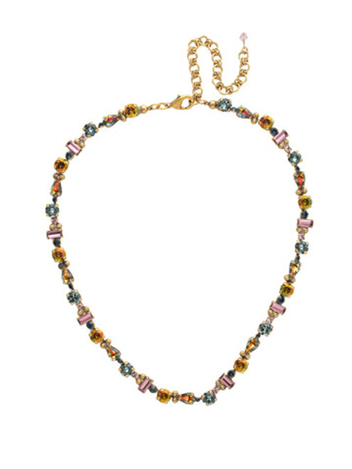 *SPECIAL ORDER*  ROYAL PLUM CRYSTAL NECKLACE BY SORRELLI~NDX11AGROP