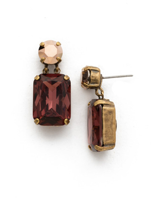 *SPECIAL ORDER*  Sorrelli Mahogany Crystal Earrings~EDR31AGM